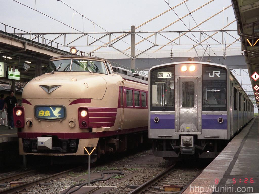Jnr Jr 485系電車 Funini Com
